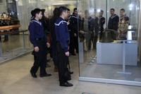 Oткрытие шести залов в Центральном военно-морском музее