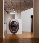 Композиция STN (STN). Бумага, шариковая ручка. Общий размер 153 х 107 см. Третьяковская галерея
