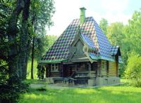 Баня-теремок. 1877-1878 гг.  По проекту И.П. Ропета