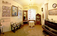Мемориальная комната, где воссоздана обстановка  дома начала XX века