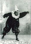 Мейерхольд в спектакле Акробаты. 1903 г.