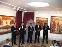 Концерт ансамбля Ковчег в галерее