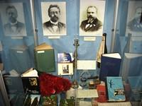 Фрагмент выставки  А.П. Чехов на Кавказев музее Крепость