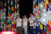 АРТ-проект Киммерийские флаги, площадь искуссв, Коктебель