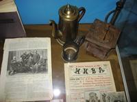 Предметы начала ХХ в. на выставке А.П. Чехов на Кавказе в музее Крепость