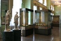 Парадный зал Врубелевского корпуса музея
