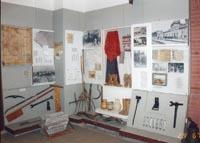 Фрагмент экспозиции Основание г.Тихорецка в 1874г