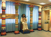 Экспозиции: Египетский зал