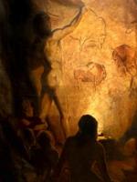 Ватагин Древний человек рисует ископаемых бизонов