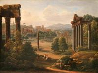Рим. Развалины Форума. 1816. Х.,м