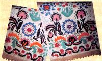 Образцы татарской вышивки (тамбур)