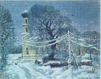 А.Тумпуров Собор  в Вышнем Волочке, 1997г