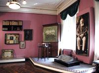 Экспозиции: Интерьер Дома-музея Велимира Хлебникова