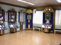 Фрагмент экспозиции, посвященной   Г.Р. Державину