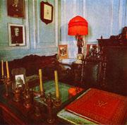 Мемориальный кабинет А.К.Глазунова в музее