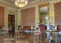 Экспозиции: Зал Елагиноосторвского дворца.