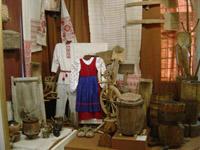Экспозиции: Фрагмент экспозиции Крестьянский быт
