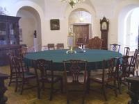 Так выглядел конференц-зал Российской Академии наук в XVIII веке