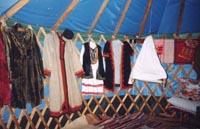 Экспозиции: Вид юрты