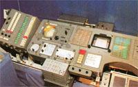 Центральный пост управления орбитальной станции Салют - 1