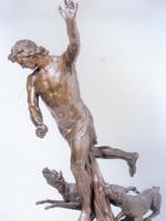 И.П.Прокофьев. Актеон, преследуемый собаками. 1784