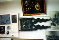 Фрагмент экспозиции музея (флюгер с Башни с изображением герба Демидовых)