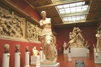 Экспозиции: Греческое искусство поздней классики и эллинизма. Слепки