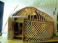 Экспозиции: Башкирская юрта
