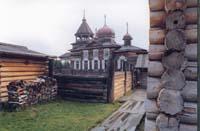 Троицкая церковь из  д. Дядима Иркутской области 1910-е гг