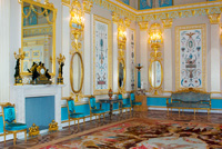 Экспозиции: Арабесковый зал Екатерининского дворца