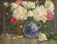 Пионы белые. Живописное наследие В.Шалаева в Выставочном зале на 1-й Тверской-Ямской