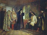 «Нижегородское посольство у князя Дмитрия Пожарского»