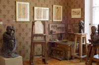 Экспозиции: Мастерская. Мемориальный музей-мастерская скульптора А.С.Голубкиной