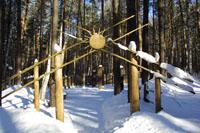 Экспозиции: Славянский  мифологический лес