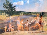 Экспозиции: Дейнека А.А. Раздолье. 1944.