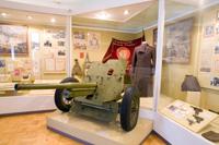 Фрагмент экспозиции Калининская область в годы Великой Отечественной войны