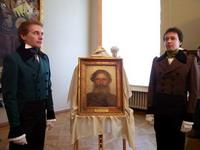 Церемония возвращения картины И. Н. Крамского. Русский музей, 18 мая 2006 года