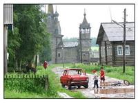 Экспозиции: Русская деревня-британский взгляд