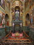 Экспозиции: Спас на Крови. Сень на месте убийства Александра II