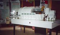 Действующий макет генератора. Т3В -800 -2У3 (ОАО Электросила г.С-Петербург)