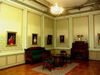Экспозиции: Картинная галерея. Зал Жилой интерьер дворянской усадьбы 1-й пол. XIX века
