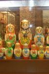 Зал экспозиции Выставки «Музей русской матрёшки»