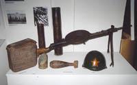 Фрагмент экспозиции Великая Отечественная война