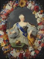 Г.Г. фон Преннер. Портрет императрицы Елизаветы Петровны. 1754