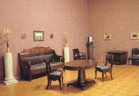 Экспозиции: Малая гостиная - комната Пушкина