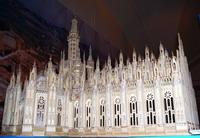 Собор Санта Мария Маджоре, Милан. Выставка Италия в миниатюре