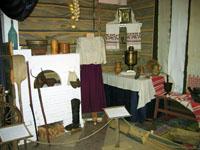 Крестьянский быт конца  XIX - начала  XX вв. Фрагмент экспозиции