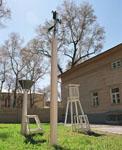 Метеорологическая площадка музея