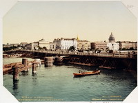 Photoglob Дворцовый плашкоутный мост 1910-е