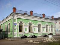 Здание, где находится дирекция музея-заповедника Мариинск исторический